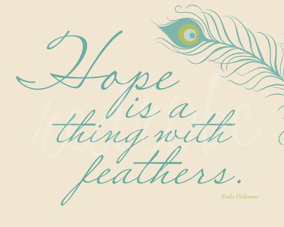 critical essay on hope is the thing with feathers A critique of the poem hope is the thing with feathers by emily dickinson full, formatted essay now emily dickinson, hope is the thing with feathers company.
